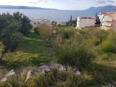 Promajna, građevinsko zemljište sa pogledom na more.