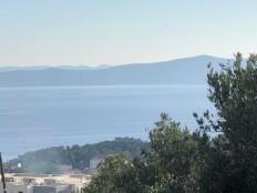 Makarska, poljoprivredno zemljište sa pogledom na more